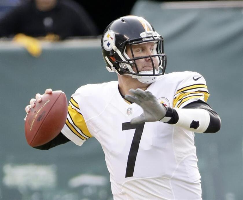 El mariscal de campo de los Steelers de Pittsburgh, Ben Roethlisberger. EFE/Archivo