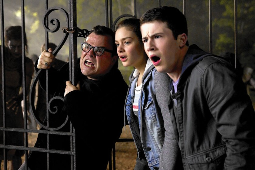 Review: 'Goosebumps' kids' horrors are a screaming good time on screen