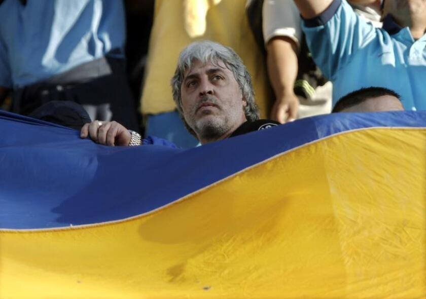 """Rafael Di Zeo, exlíder de la barra brava del Boca Juniors """"La Doce"""". EFE/Archivo"""