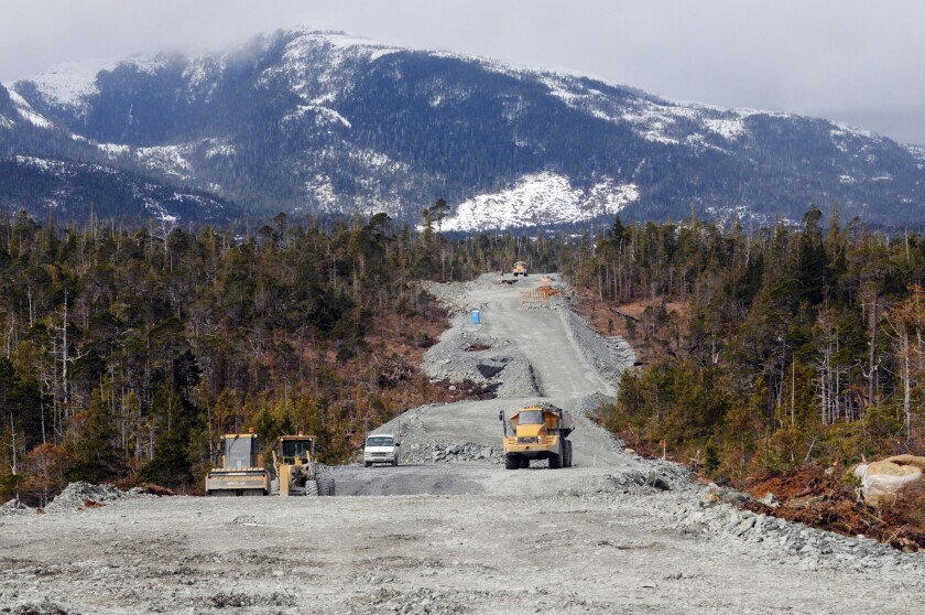 """Based on federal and state documents, the Wilderness Society has estimated the total cost of the so-called """"road to nowhere"""" to U.S. taxpayers at more than $75 million, or $79,113 per resident of King Cove."""