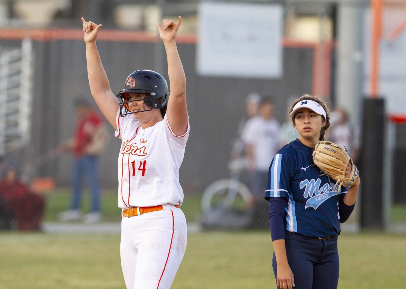 Photo Gallery: Marina vs. Huntington Beach in softball