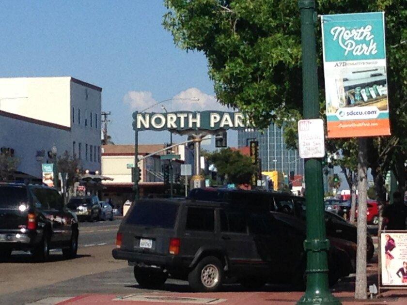 North Park community sign