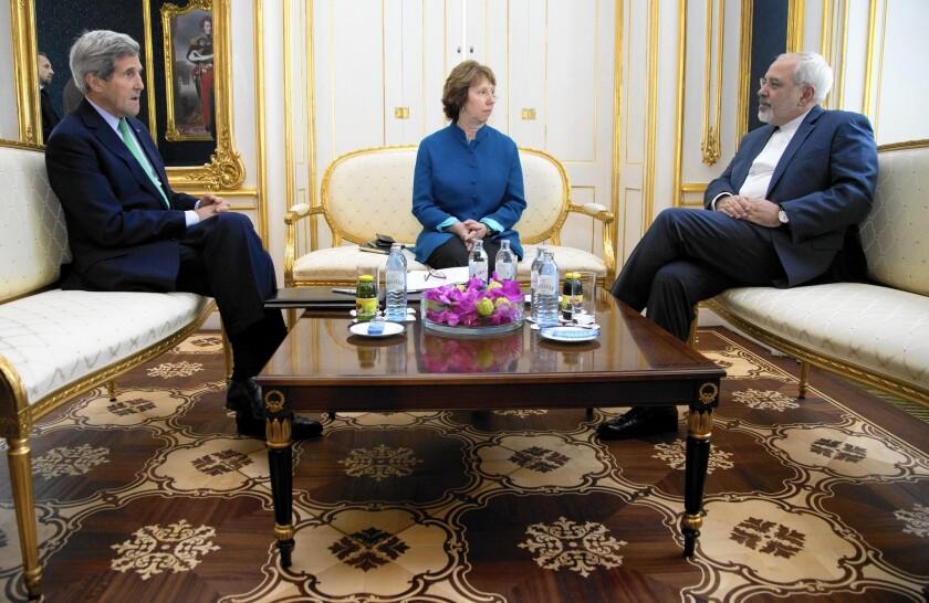John Kerry, Catherine Ashton, Mohammad Javad Zarif