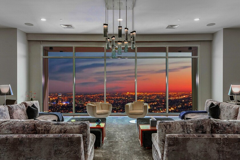 Matthew Perry's Century City penthouse