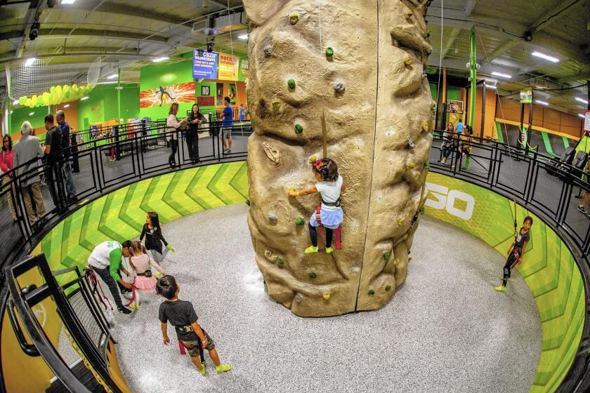 Jumping on a trend: Indoor trampoline parks are big business