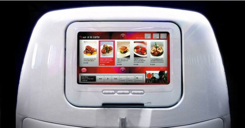 The food on Virgin America won the top ranking from nutrition professor Charles Platkin.