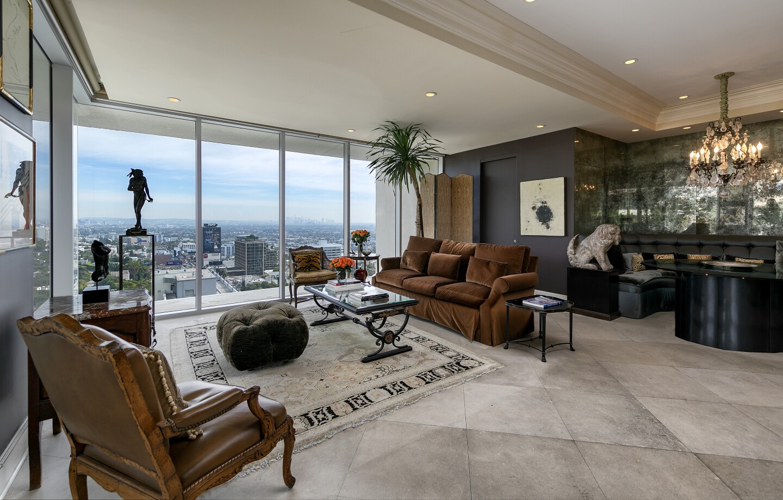 Diahann Carroll's West Hollywood condo