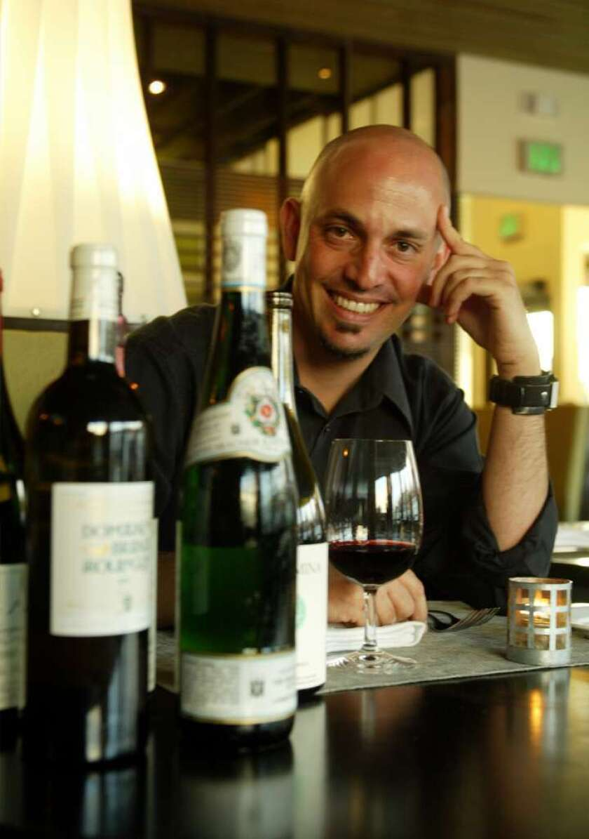 When it comes time to kick back, Osteria Mozza general manager goes for Chardonnay, specifically Mâcon Solutre Pouilly from Domaine de la Chapelle (imported by Peter Weygendt).