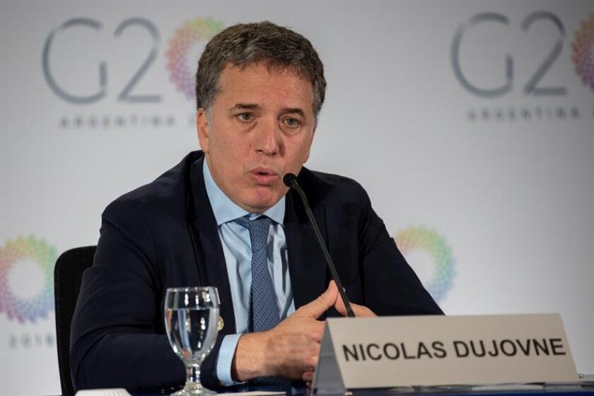 El ministro de Economía argentino, Nicolás Dujovne. EFE/Archivo