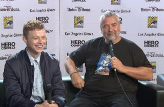 Luc Besson takes us inside his next space odyssey 'Valerian and the City of a Thousand Planets'