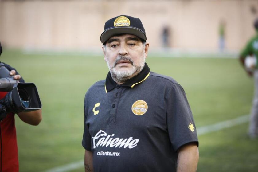 Maradona dirigirá a Gimnasia y Esgrima La Plata hasta mediados de 2020