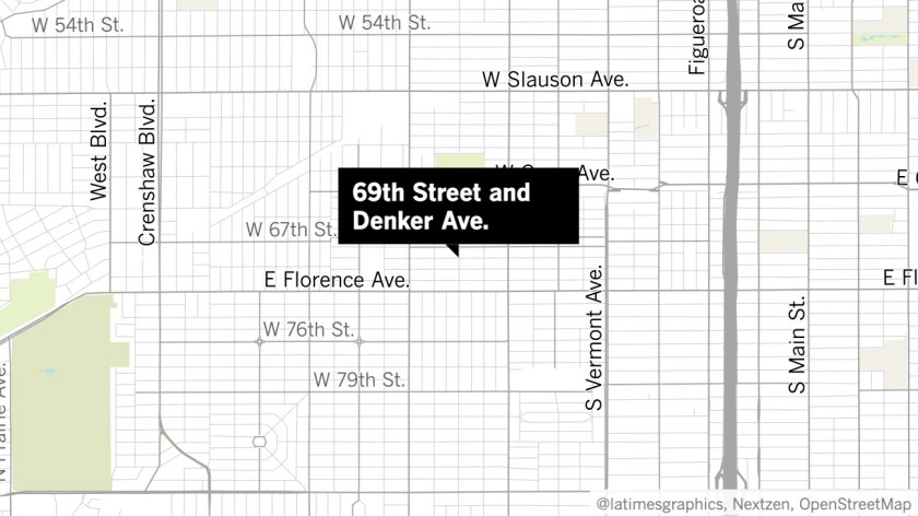 69th Street and Denker Avenue