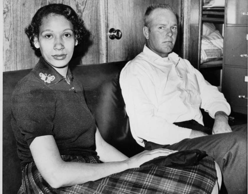 Mildred Loving and husband Richard in 1965.