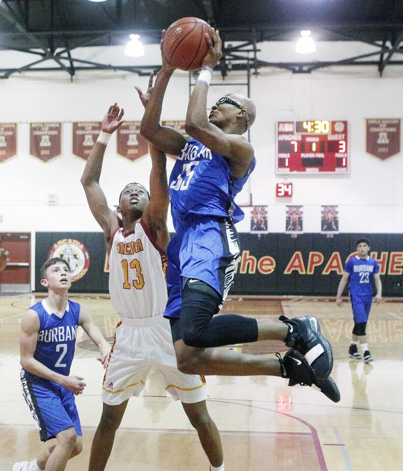 Photo Gallery: Burbank vs. Arcadia in Pacific League boys' basketball