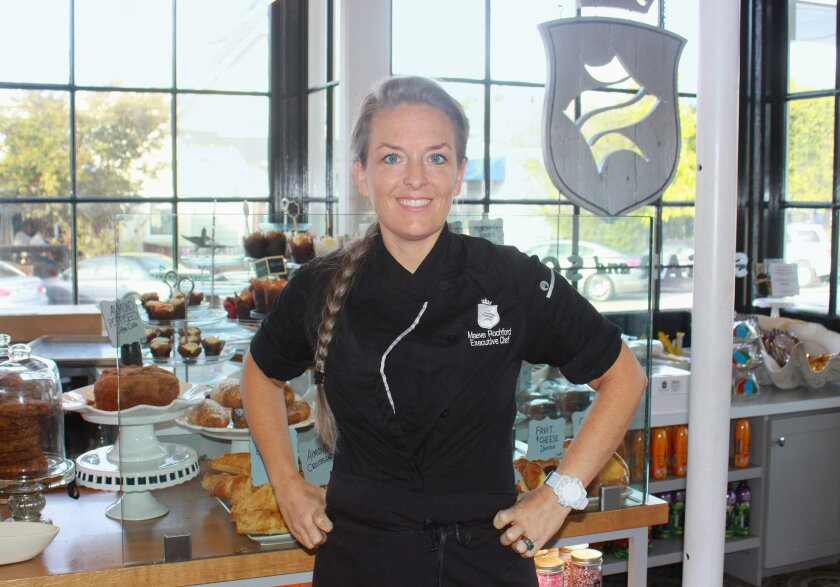 Baker and chef Maeve Rochford of Sugar and Scribe in La Jolla