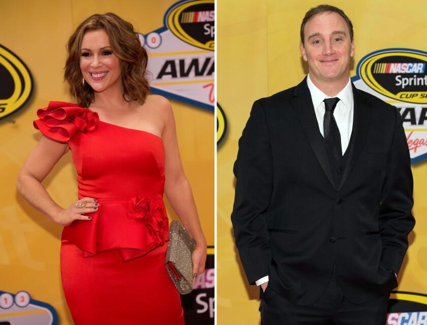 Alyssa Milano and Jay Mohr feud