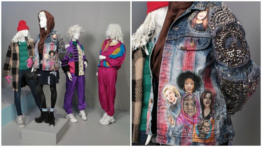 """""""Broad City"""" costumes by Staci Greenbaum are part of the 12th """"Art of Television Costume Design"""" exhibition."""