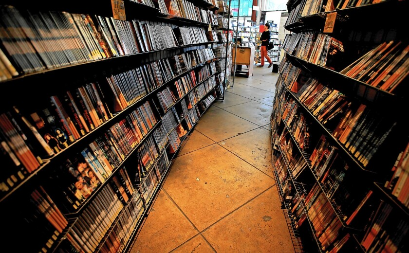 Vidiots, a 30-year-old movie rental store in Santa Monica, is closing in April after years of struggling to survive the onslaught of Internet rentals, streaming services and online piracy.