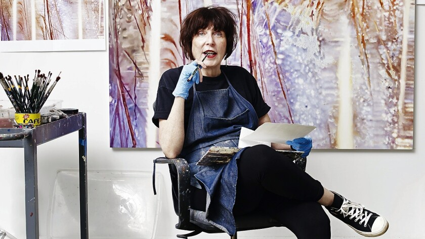 """The Orange County Museum of Art recently opened the exhibition, """"Marilyn Minter: Pretty/Dirty,"""" which showcases paintings, photographs and video installations created by the New York-based artist Marilyn Minter throughout her 40-year career. Minter, pictured above, is best-known for her lush artwork that addresses issues of feminism, beauty and pop culture."""