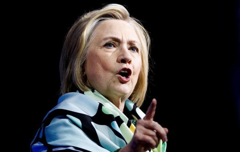 La política estadounidense, Hillary Clinton. EFE/Archivo