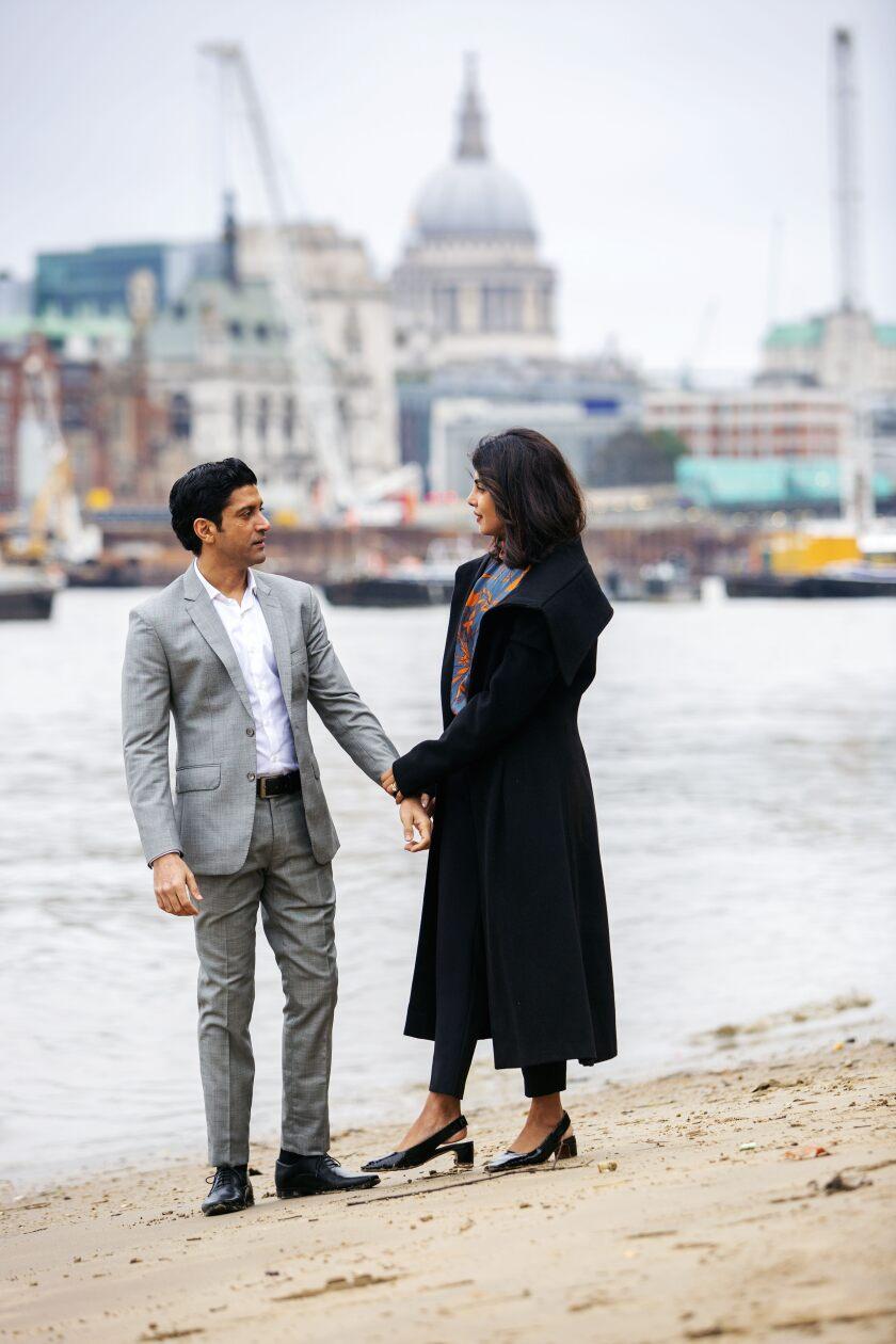 Farhan Akhtar, Priyanka Chopra Jonas, 'The Sky Is Pink'