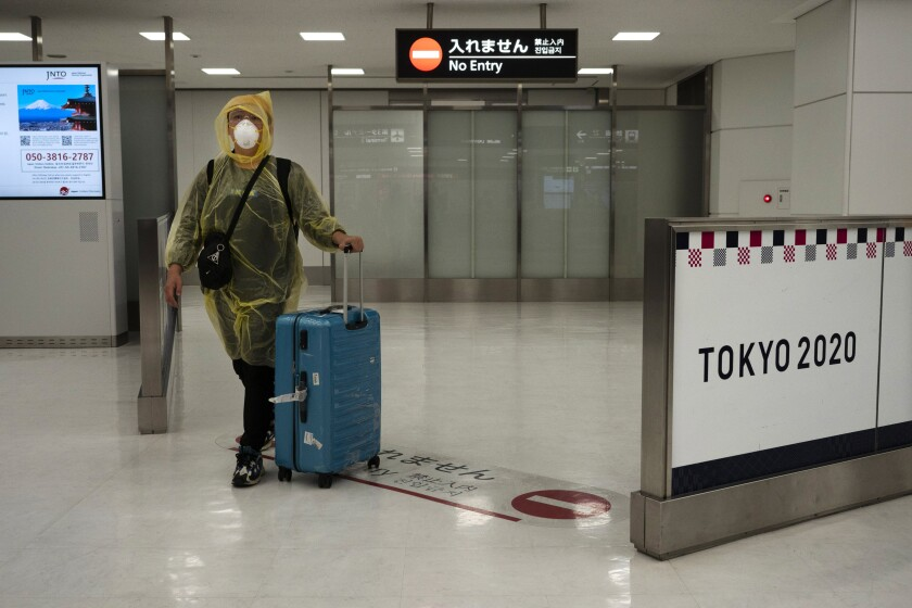 Virus Outbreak Tokyo Empty Airports