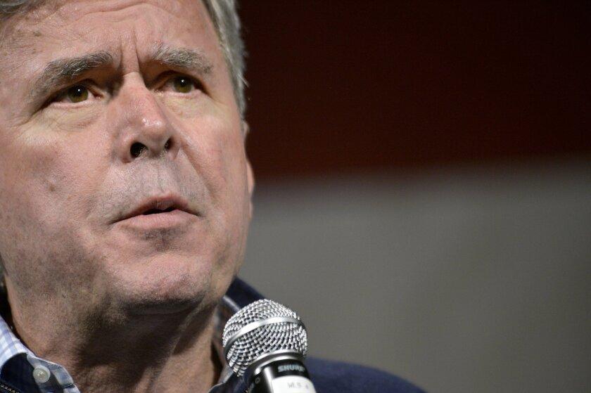 Former Florida Gov. Jeb Bush