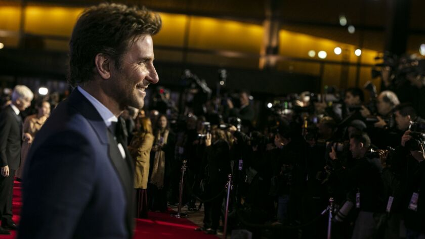 """PALM SPRINGS, CA --JANUARY 03, 2019 --Director Bradley Cooper from the film, """"A Star is Born,"""" on th"""