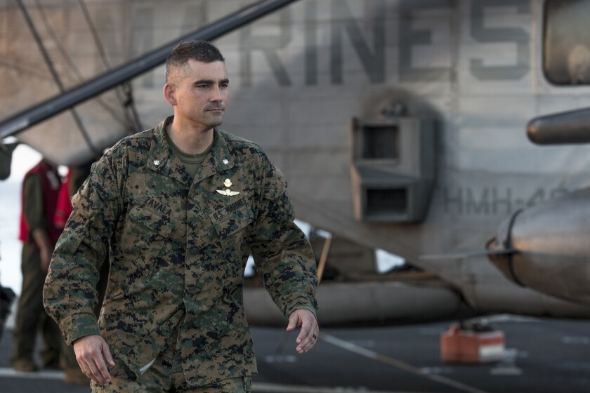 SPMAGTF-Peru commanding officer interview imagery