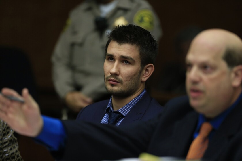 Kings defenseman Slava Voynov, shown in court in December, agreed to a plea deal Thursday that will result in him serving 90 days in jail and three years of probation.
