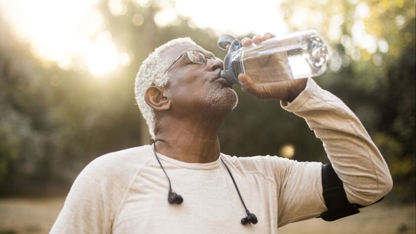 After people turn 50, they begin losing their sense of thirst, according to the lead author of one study.