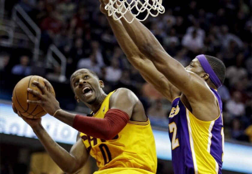 C.J. Miles scored 28 points for Cleveland on Tuesday.