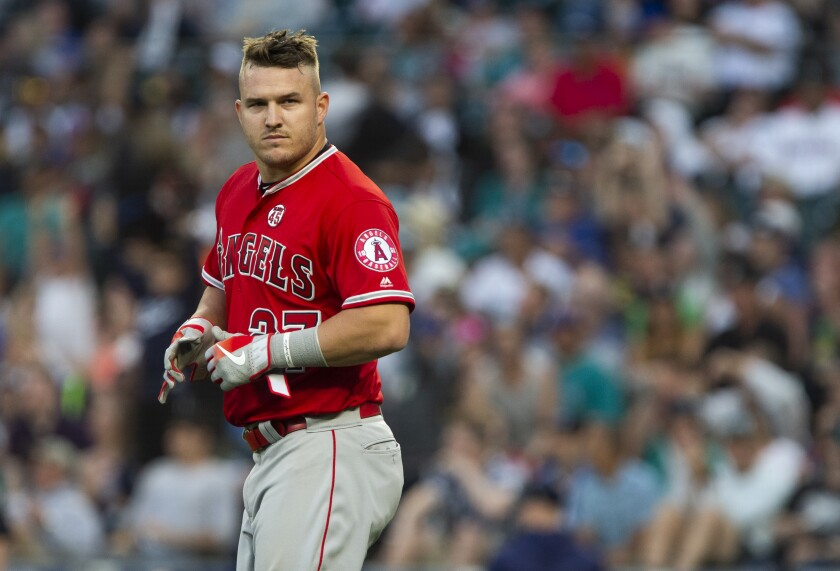 Angels outfielder Mike Trout sounded off on the Houston Astros' cheating scandal Monday during spring training in Tempe, Ariz.