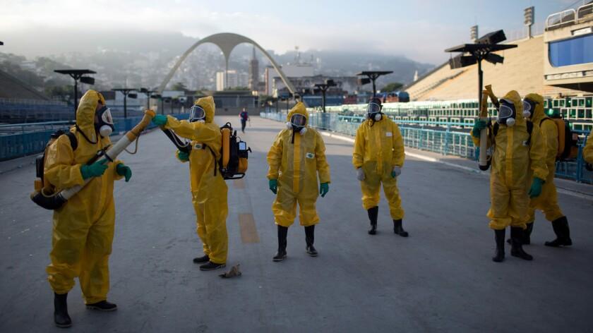 Preparing Rio de Janeiro for the Olympics