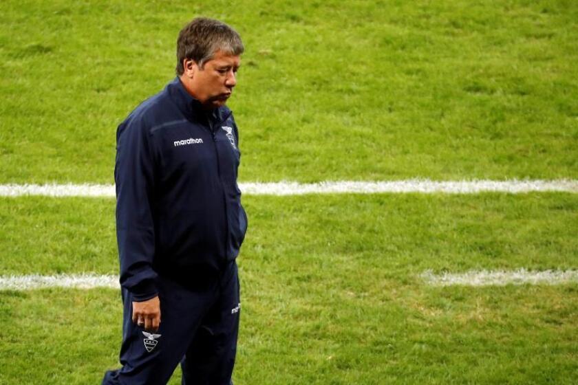 Imagen de archivo del entrenador Hernán Darío 'Bolillo' Gómez. EFE/Paulo Fonseca/Archivo