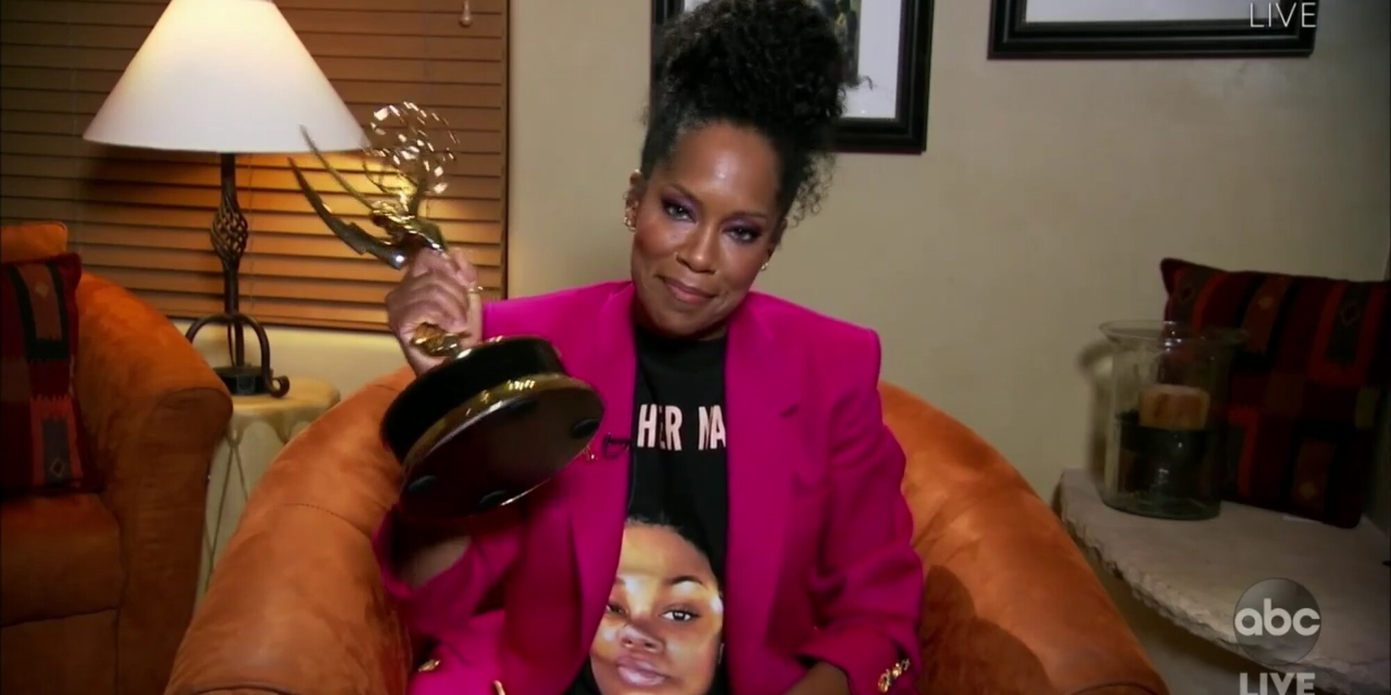 """Regina King, winner for lead actress in a limited series or movie for """"Watchmen"""""""