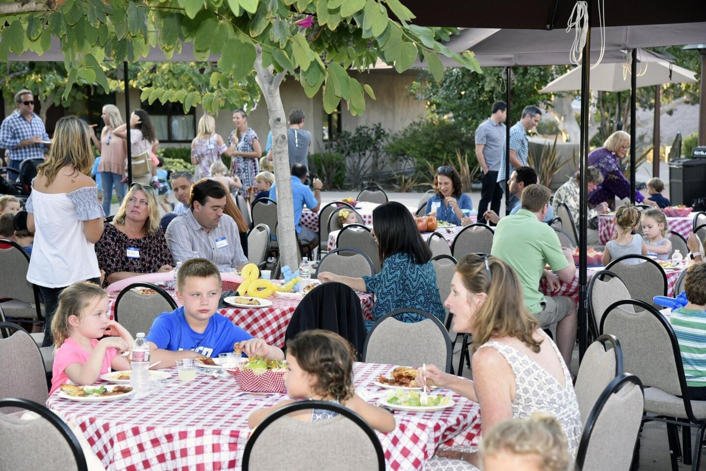 Village Church Preschool Back to School Pizza and Ice Cream Social