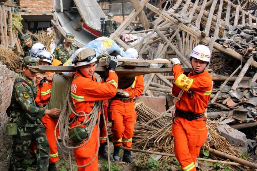 China quake kills at least 179
