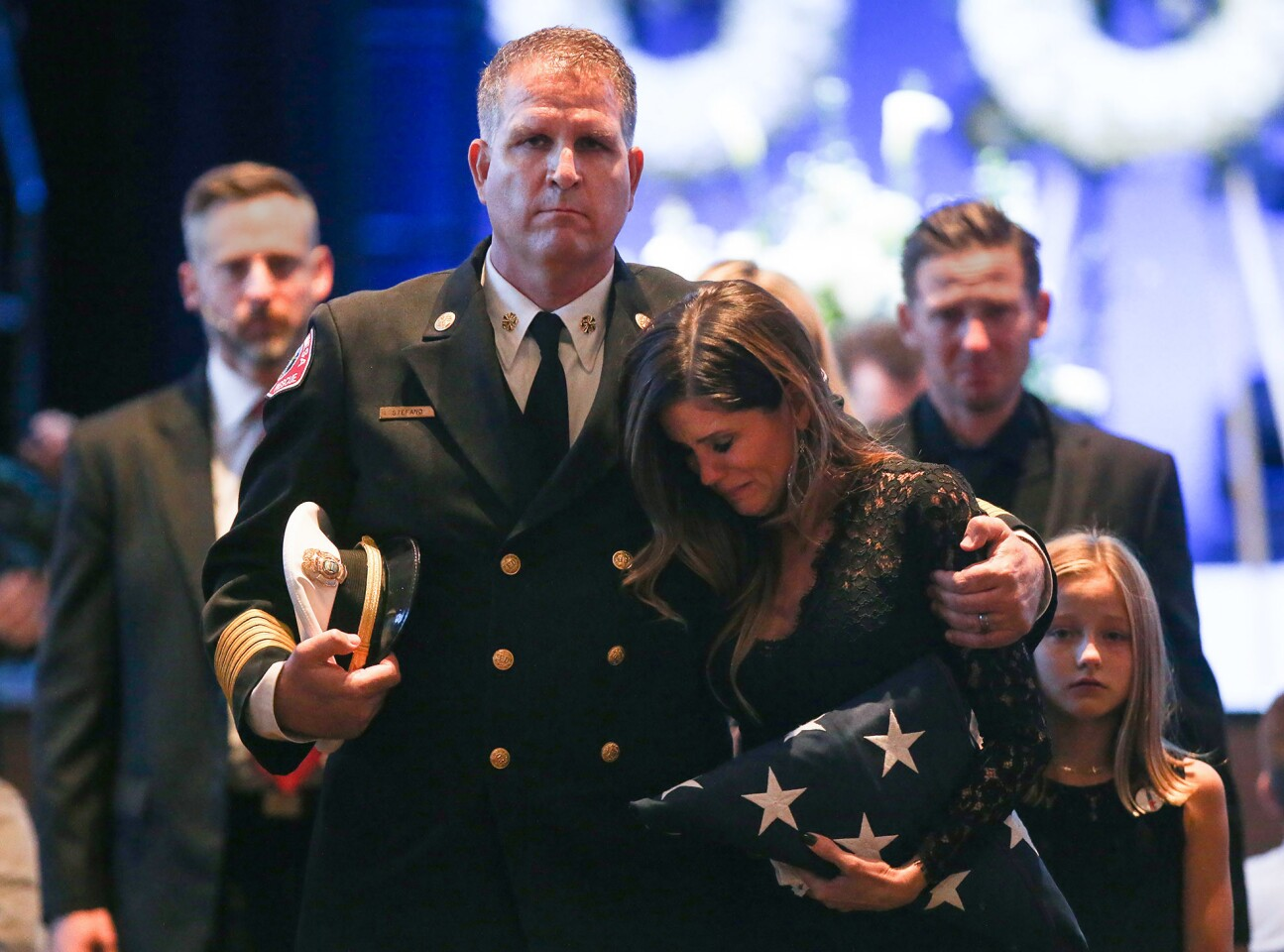 Capt. Michael Kreza memorial service