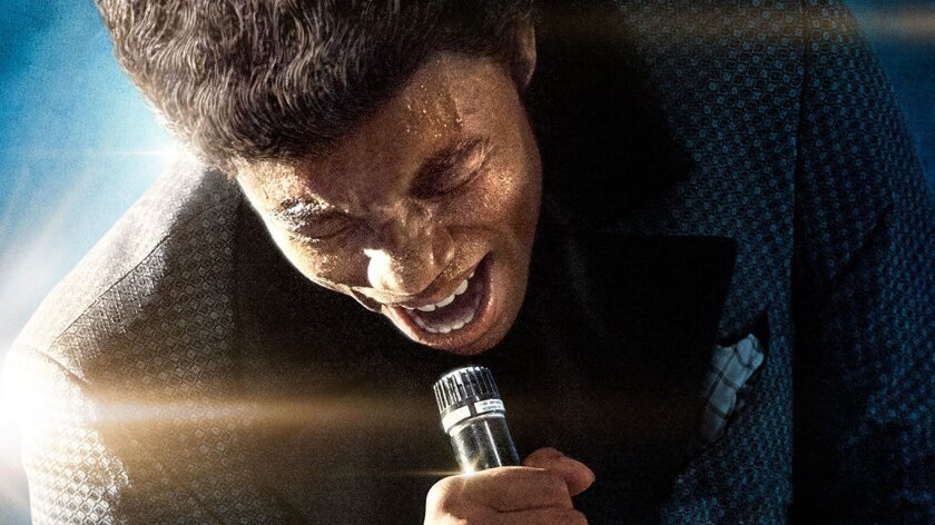 """Chadwick Boseman stars as James Brown in """"Get on Up."""""""