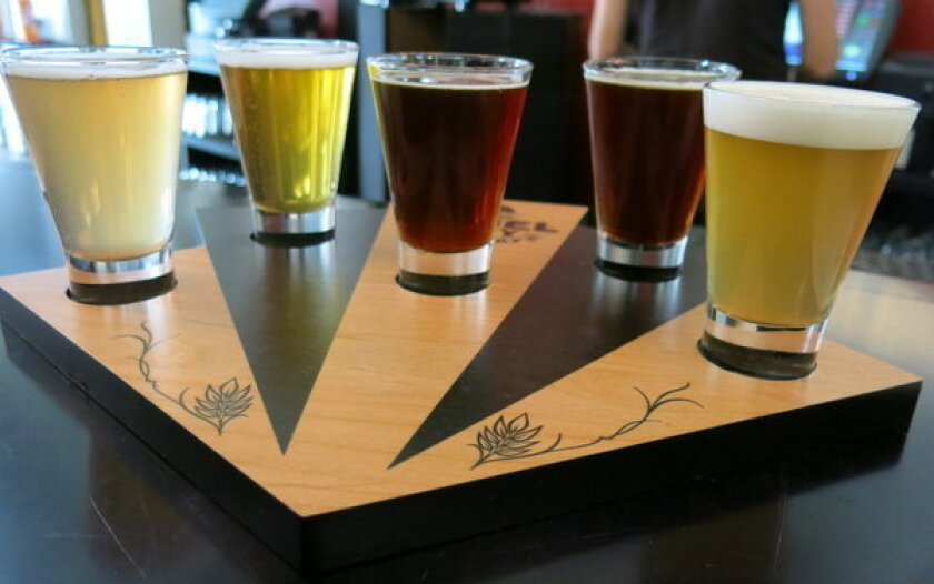 Angel City Brewing offers a beer based on a French dip