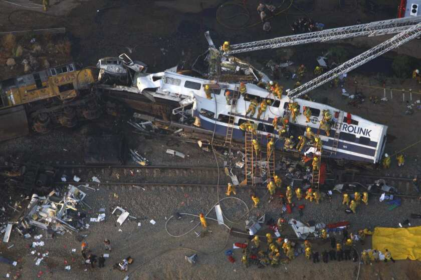The deadly collision between a Metrolink commuter train and a freight train near Chatworth in 2008 prompted calls for automated safety measures. Metrolink has begun installing a new safety system, but nationwide implementation has been stalled.