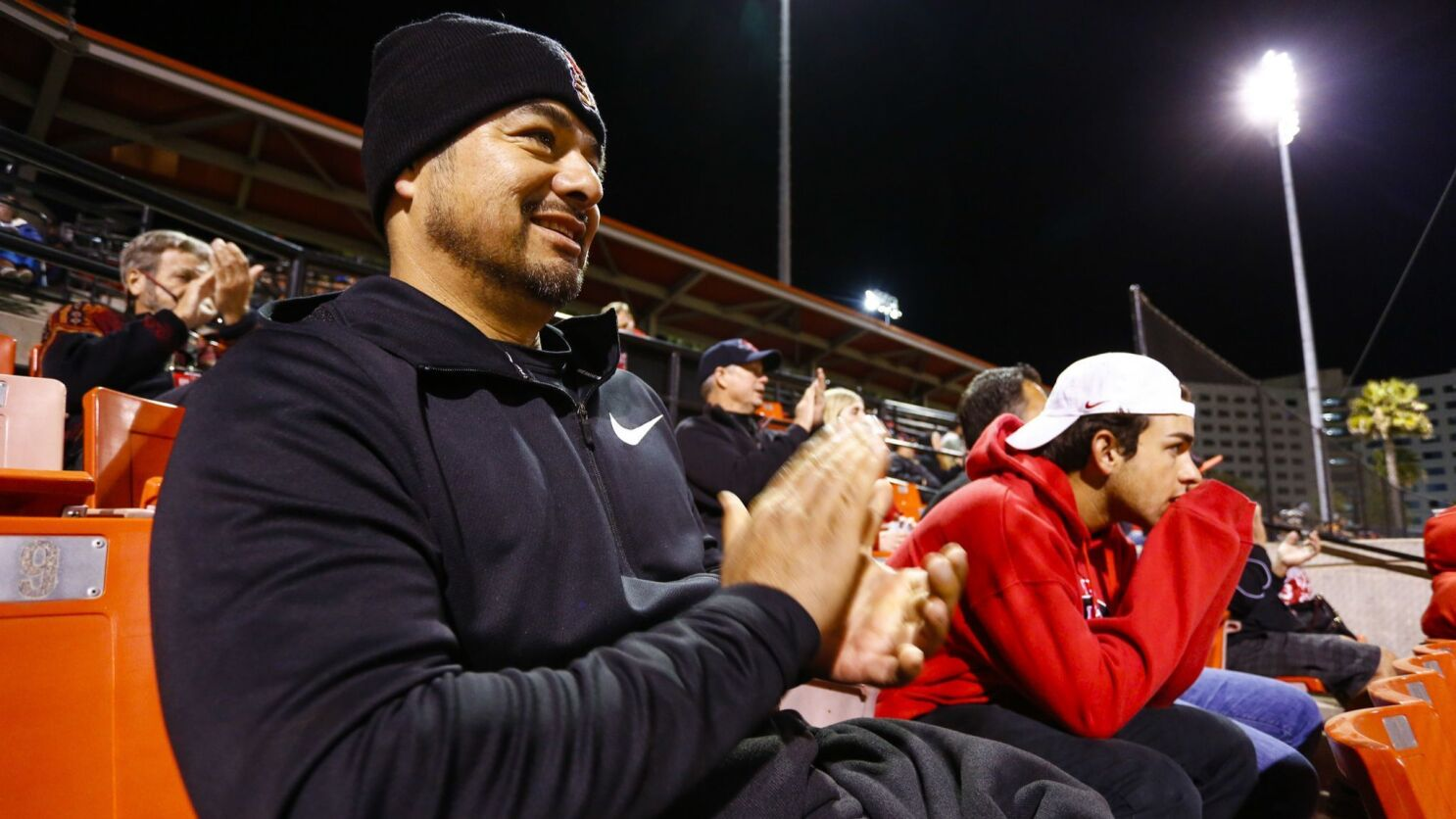 0f708a39d San Diego State catcher Dean Nevarez appreciates having his father in the  stands now more than ever - The San Diego Union-Tribune