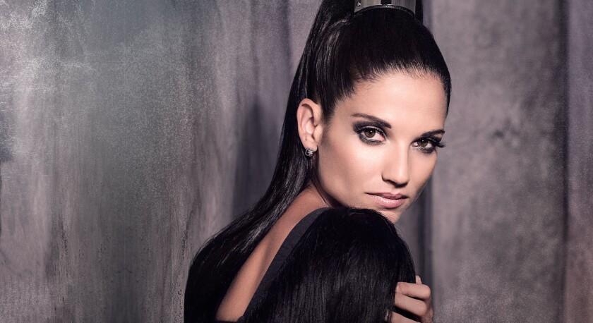 Natalia Jiménez, coach del reality 'La Voz Kids', de la cadena Telemundo.