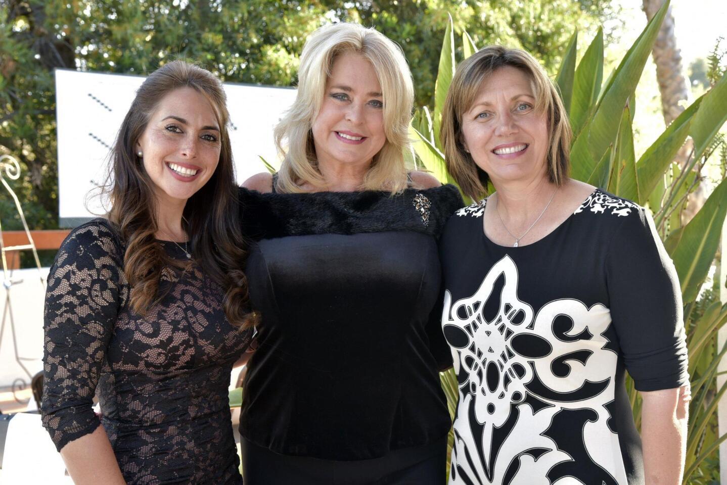 Laura MacKinnon, Carrie Woodland, Paulette Britton