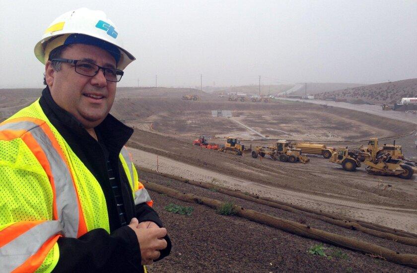 Mario Orso, Caltrans corridor director