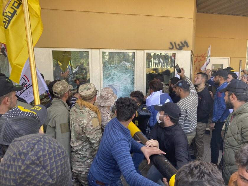 U.S. Embassy siege in Iraq