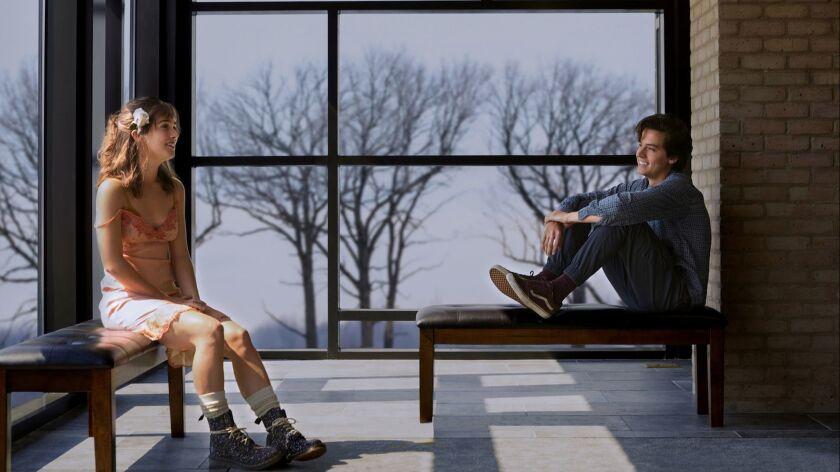Movie review: 'Five Feet Apart' a beautifully authentic take on 'Romeo and Juliet'