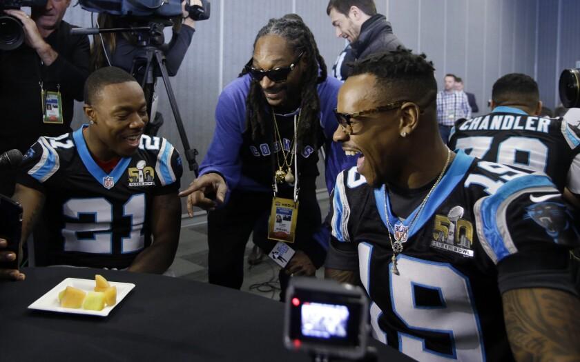 Snoop Dogg, Teddy Williams, Ted Ginn Jr.