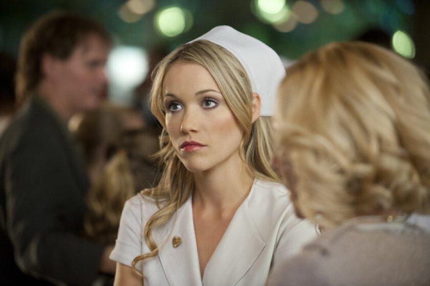 "A scene from Lionsgate's ""Nurse 3D."""
